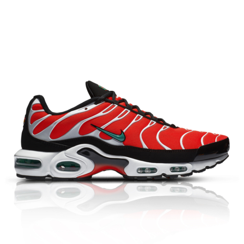 new products aa482 2e77d Nike Men s Air Max Plus Orange Sneaker