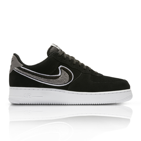 promo code 1610c f7660 Nike Mens Air Force 1 07 LV8 BlackGrey Sneaker