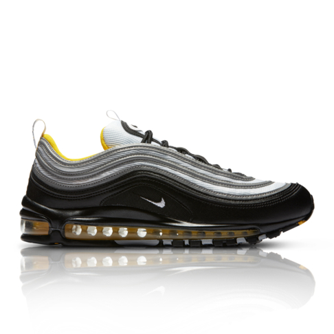 sale retailer d0e11 5db60 Nike Men's Air Max 97 Black/Yellow Sneaker