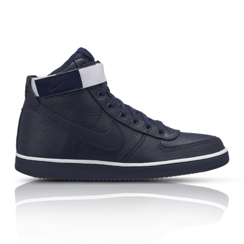 21fc4a161 Nike Men s Vandal High Supreme Navy Leather Sneaker