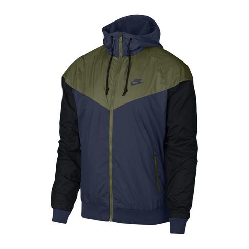 9c9cba8bb Nike Sportswear Men's Windrunner Navy/Black Jacket