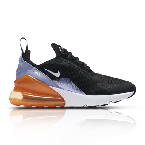 Nike Junior Air Max 270 Black White Sneaker ddb9bb02240