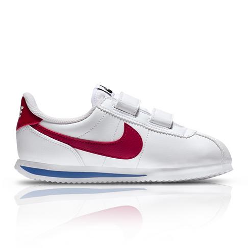 dc0110b6208c7 Nike Kids Cortez White Red Sneaker