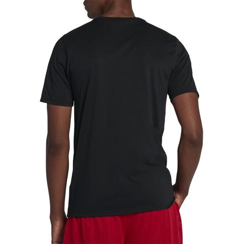 3eaba1be9c9f Jordan Dry Men s Graphic 2 Basketball Black T-Shirt