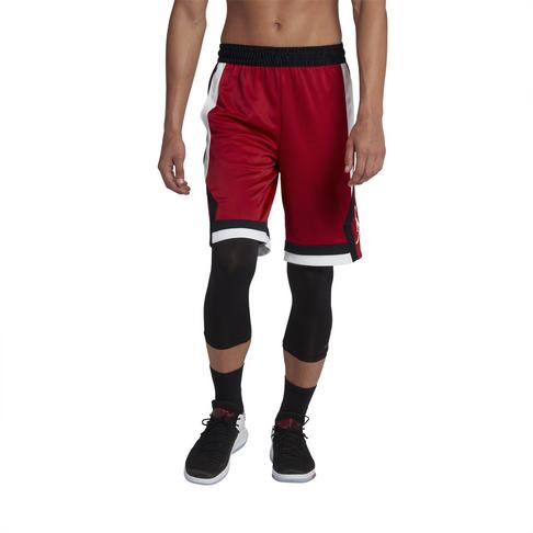 cdadb43ab013fb Jordan Men s Rise Black Red Shorts