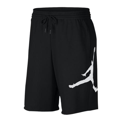 4d956396ec55 Jordan Air Sportswear Jumpman Men s Carbon Heather Black Fleece Shorts