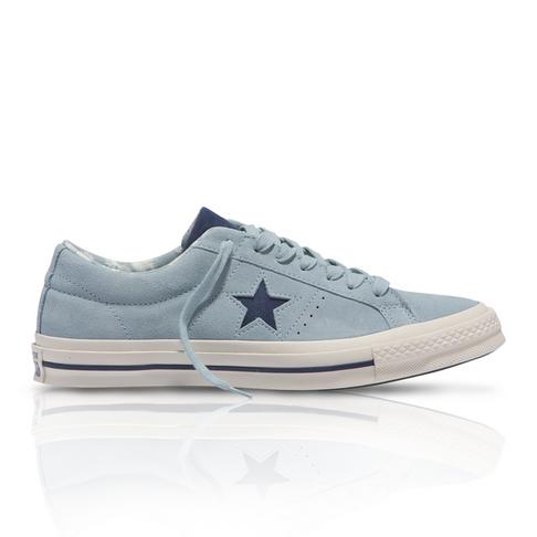 Converse Men s One Star Low  Tropical Feet  Blue Sneaker d954f38f3