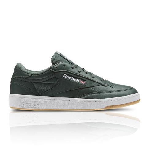 9fa95602955 Reebok Men s Club C 85 ESTL Green Sneaker
