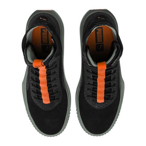 Puma Men s Breaker Fight or Flight Hi Black Sneaker fbc9a1de1