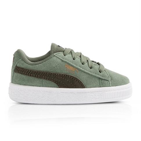 ... Puma Infants Suede Classics Green Sneaker ... 07038c47e