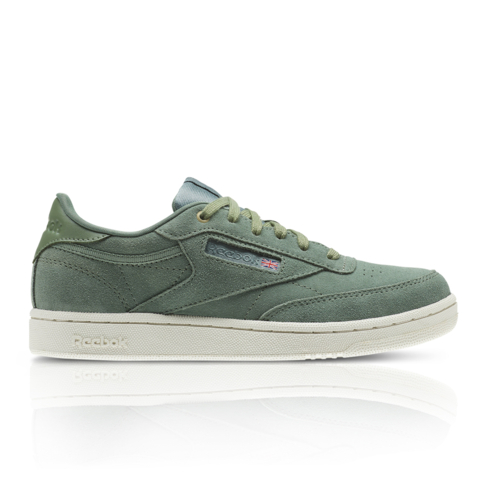 48f55890b1b Reebok Junior Club C 85 MCC Green White Sneaker