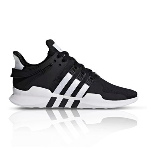 2e06e82627075 adidas Originals Men s EQT Support ADV Black White Sneaker