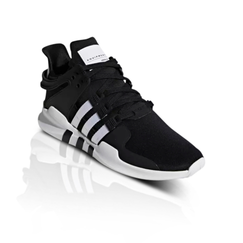 newest 66367 678c8 adidas Originals Men's EQT Support ADV Black/White Sneaker