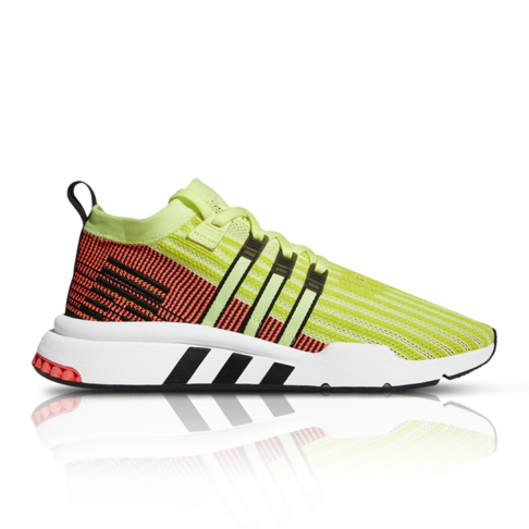 size 40 d8dd4 d7345 adidas Originals Men's EQT Support Mid ADV Primeknit Yellow/Red Sneaker