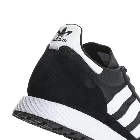 size 40 b7ac4 9fd0b adidas Originals Mens Forest Grove BlackWhite Sneaker