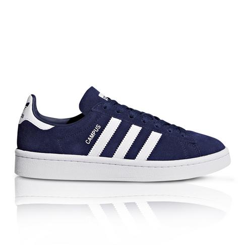 low priced f129d 031cb adidas Originals Junior Campus Navy Blue White Sneaker