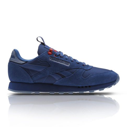 7d6c495e4a39 Reebok Men s Classic Leather Blue Sneaker