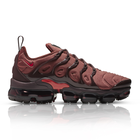 0dad214b89889 Nike Women s Air Vapormax Plus Red Sneaker