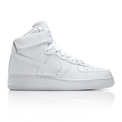 new products 7558e 270f7 Nike Women's Air Force 1 Hi White Sneaker