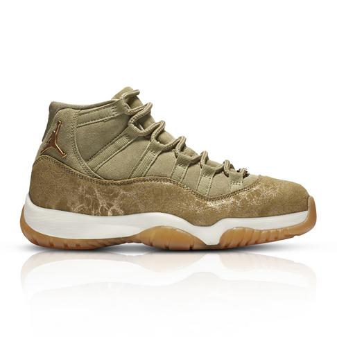 b98bd0319b32 Air Jordan Women s Retro 11 Tan Sneaker