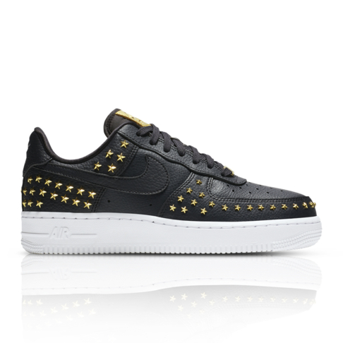 2525a2ecc870 Nike Women s Air Force 1  07 Stars Pack Black Sneaker