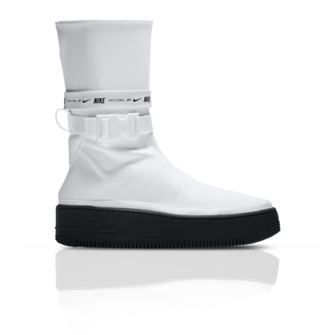 outlet store 2ab57 69306 Nike Women s Air Force 1 Sage High White Sneaker