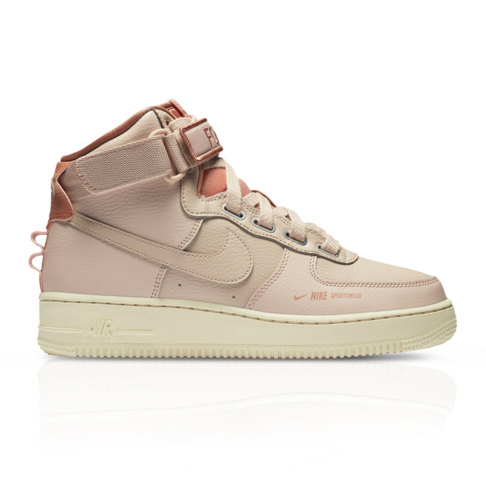 best sneakers d3cf9 c2d36 Nike Women's Air Force 1 High Utility Pink Sneaker