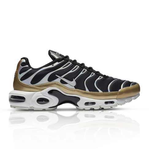 official photos 04e1a e792a Nike Women's Air Max Plus Black/Gold Sneaker