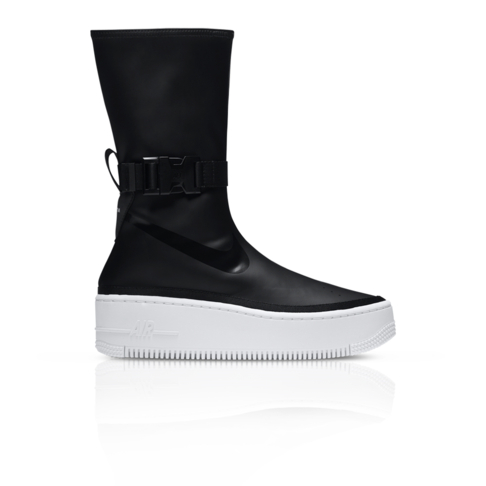 Nike Women s Air Force 1 Sage High Black Sneaker 786427c96