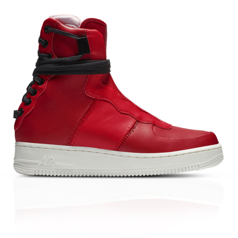 nouvelle arrivee 53361 6edf4 Nike Women's Air Force 1 Rebel XX Red Sneaker