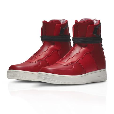 online store f1536 d42c4 Nike Women s Air Force 1 Rebel XX Red Sneaker