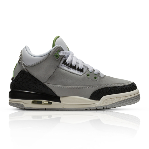 sports shoes 63125 fa89e Air Jordan Junior Retro 3 Grey Sneaker