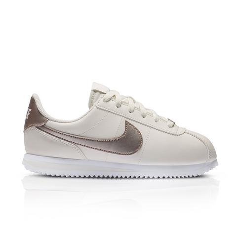sale retailer 7f150 2b45a Nike Junior Cortez Cream Sneaker