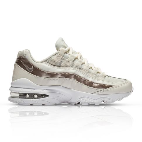 6de2cc8b21 Nike Junior Air Max 95 Cream Sneaker