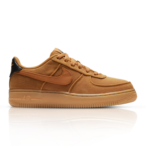 affordable price low price sale another chance Nike Junior Air Force 1 LV8 Brown Sneaker