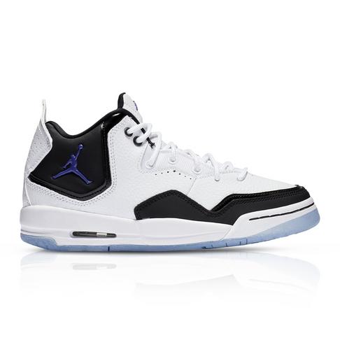 f4aa4e961685 Jordan Junior Courtside 23 White Black Sneaker