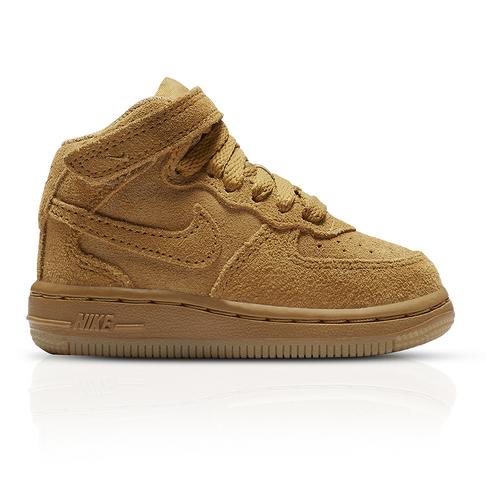 new product 7ffbb 0adba Nike Infants Air Force 1 Mid LV8 Tan Sneaker