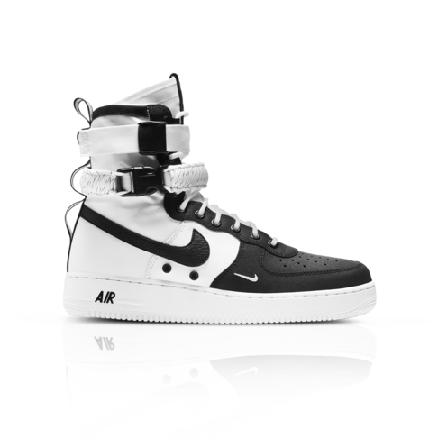 quality design 1b5c6 11592 Nike Men's SF Air Force 1 Mid White Sneaker
