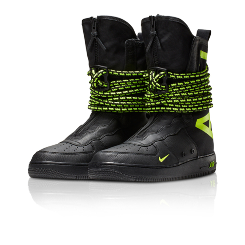 online store 553e8 b2846 Nike Men s SF Air Force 1 High Black Boot