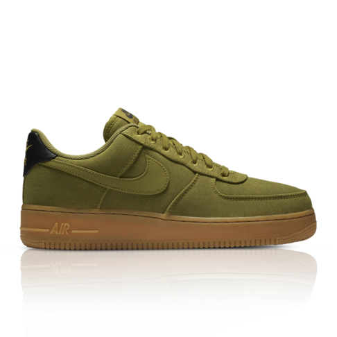 best sneakers d0a6c 87d40 Nike Men s Air Force 1  07 LV8 Style Green Sneaker