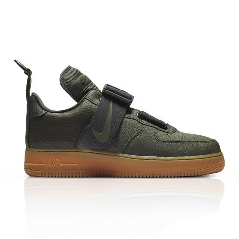 172840788ac8e Nike Men s Air Force 1 Utility Green Sneaker