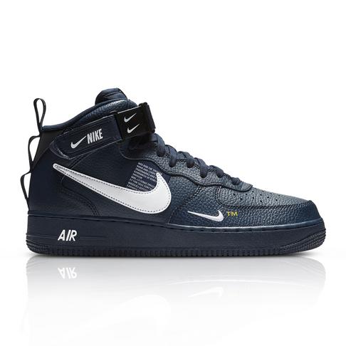 c4916f248b052c Nike Men s Air Force 1 Mid  07 LV8 Navy Sneaker