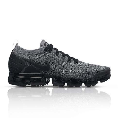 16c4795ac1 Nike Men's Air Vapormax Flyknit 2 Black/Grey Sneaker