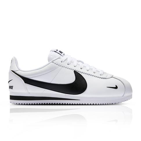 1fe2b9b88142 Nike Men's Classic Cortez Premium White Sneaker