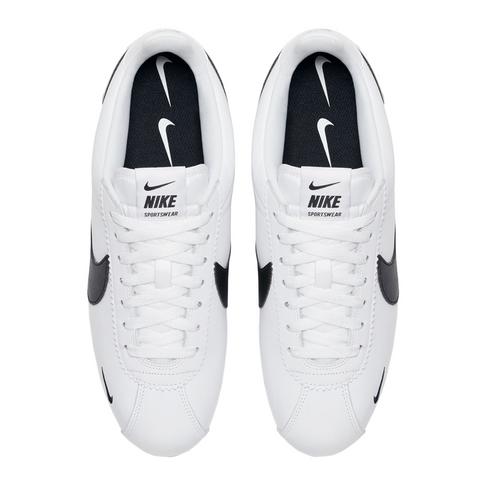 sports shoes a6468 334ac Nike Men s Classic Cortez Premium White Sneaker