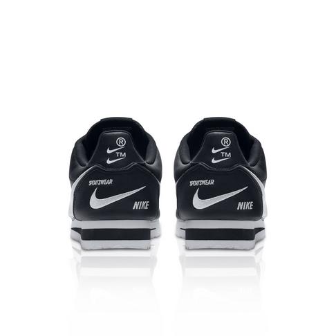 buy popular 6a386 f38aa Nike Men s Classic Cortez Premium Black Sneaker
