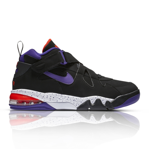 quality design df64c e2c03 Nike Men s Air Force Max CB Black Purple Sneaker