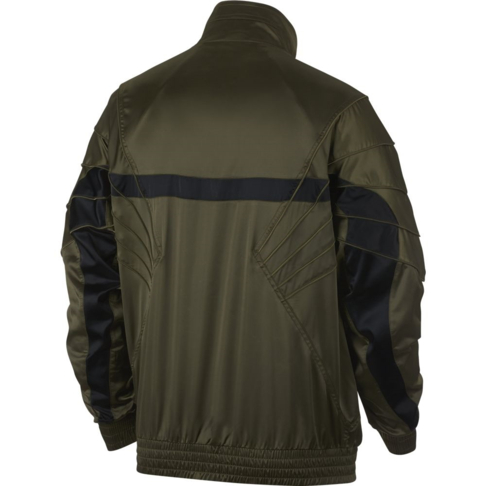 69251124db8cfb Jordan Sportswear Men s AJ5 Satin Olive Jacket