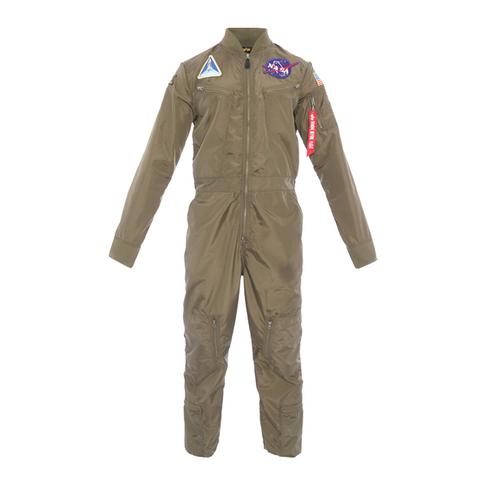 ec1addb492b Alpha Industries Nasa Men s Sage Green Flight Suit