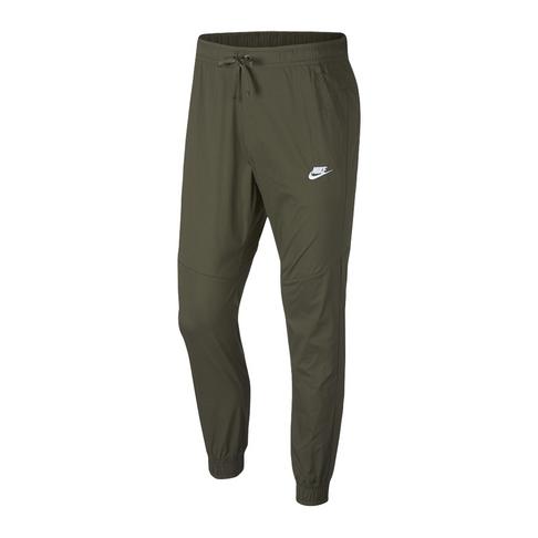 4701b6666163 Nike Sportswear Men s Woven Olive Jogger Pants